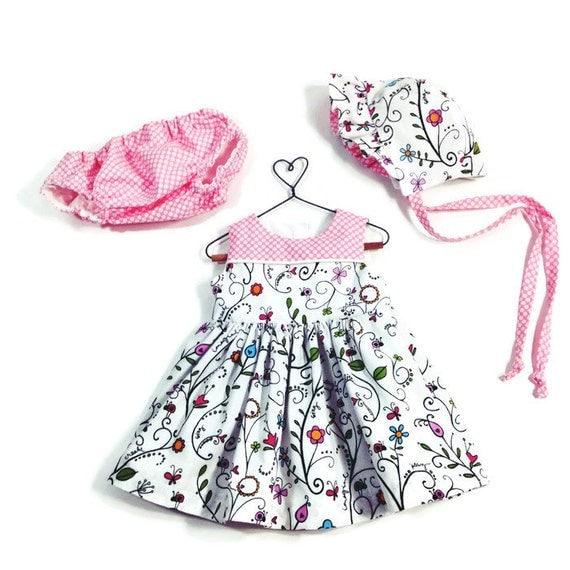 baby outfit infant dress floral dress pink dress baby shower new baby