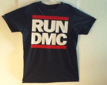 Classic RUN DMC T-Shirt Large