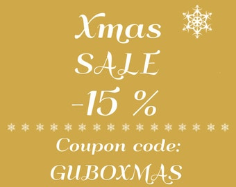 XMAS Coupon code - type this code at checkout