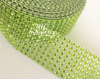 Diamond mesh ribbon,jewel ribbon,rhinestone ribbon,mesh by the yard,wedding mesh,wedding cake decoration,scrapbooking mesh rhinestone,73