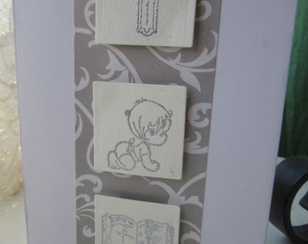 Baby Christening/Confirmation Card