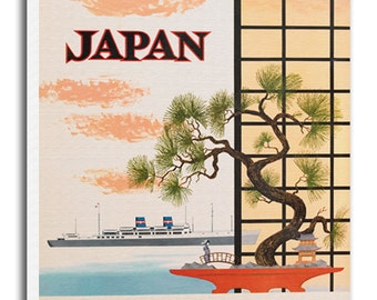 Japanese Art Canvas Japan Travel Poster Print Hanging Wall Decor xr613
