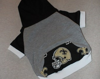 New Orleans Saints Dog Hoodie / Personalization Available!