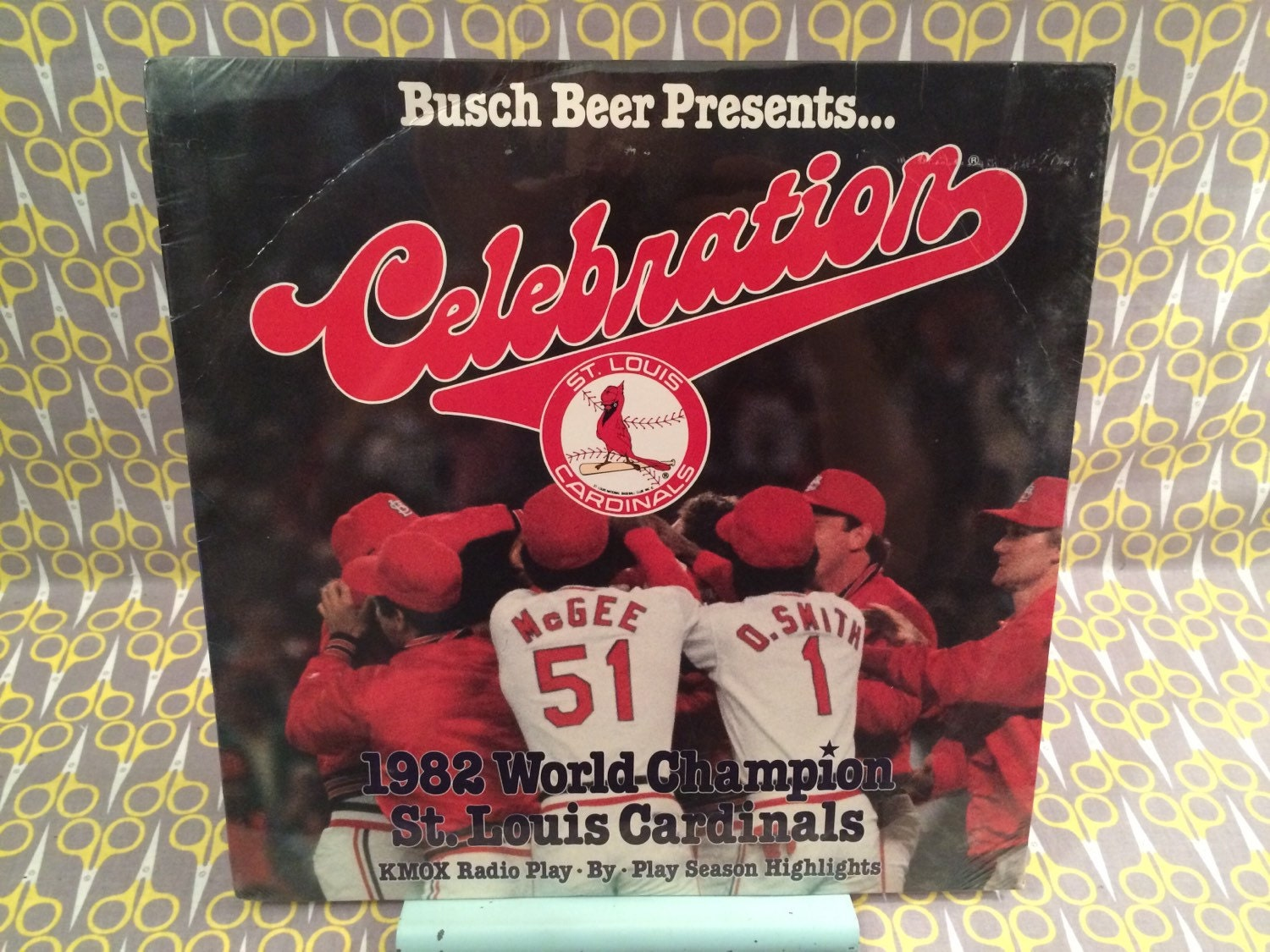 Sealed St Louis Cardinals 1982 World Champions By