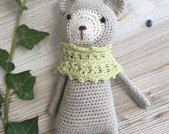 TEDDY, made to ORDER, Christmas gift, crochet teddy, crochet toy, chubby teddy, teddy bear crochet, gift teddy,child gift,newborn birth gift