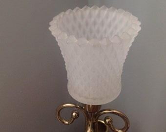 White frosted votive cup, white diamond cut votive, white frosted sconce candleholder, wedding table centerpiece, wedding reception table