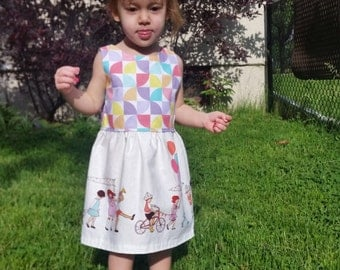 One of a kind summer dress; Size 2T