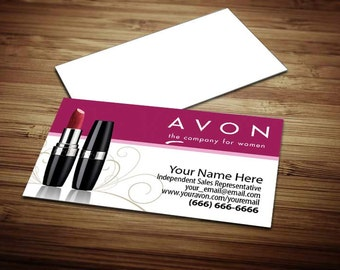 250 - Avon Business Cards [Design 1]