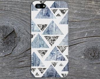 Stone x Marble Geometric Triangle Phone Case Texture iPhone 6 iPhone 6 Plus Protective iPhone Case Galaxy s8 Samsung Galaxy Case CASE ESCAPE