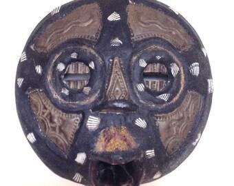 Old African Baluba Kifwebe Mask