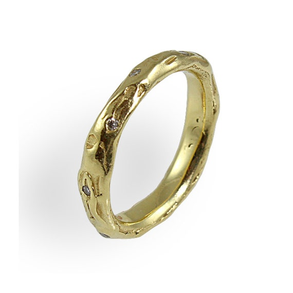 organic wedding ring wedding band his and hers