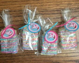 Drizzle Rice Krispies treats