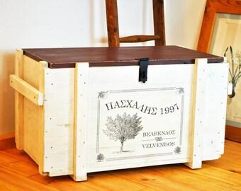 Distressed Coffee Table Trunk Custom Design Crate Coffee Table Coffee Table Chest