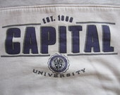 Vintage 90s Capital University Sweatshirt GEAR