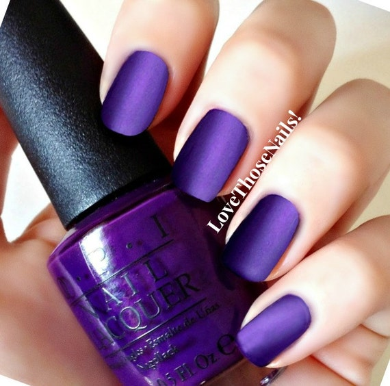 opi matte top coat opi purple crush 169 matte manicure i carol about by 30593