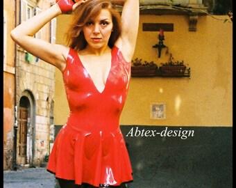 Latex Dress Star