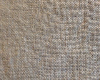 Oatmeal Linen Bottom-weight Fabric-By-The-Yard