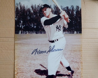 Moose Skawron Autograph Picture with Certificate of Authenticity