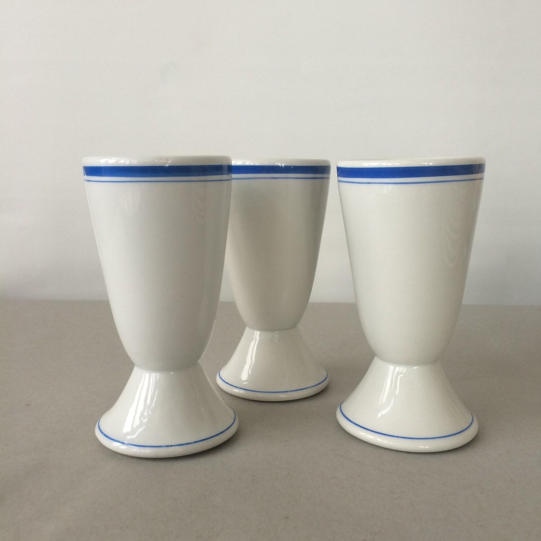 vintage porcelain ice cream sundae glasses porcelaine de luxe. Black Bedroom Furniture Sets. Home Design Ideas