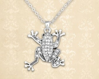 Tree Frog Necklace - 47223