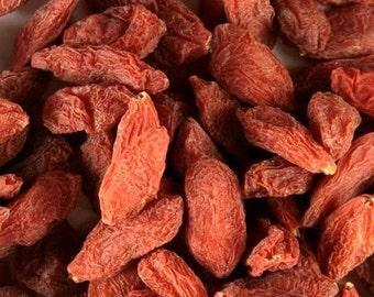 Goji Berries, whole - Certified Organic