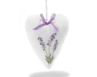 Lavender Padded Heart