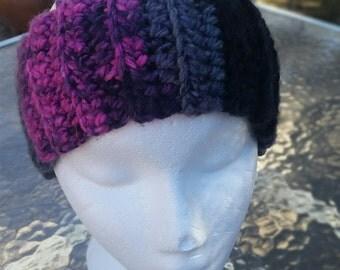 Crochet Headband, Ski Headband, Ribbed Headband, Crochet Ear Warmers