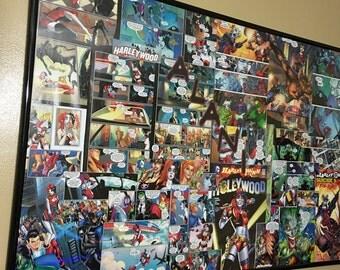 Custom comic book collage