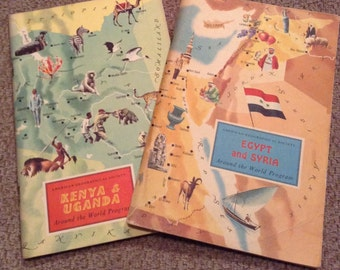 American Geographical Society Books - Egypt and Syria - Kenya and Uganda