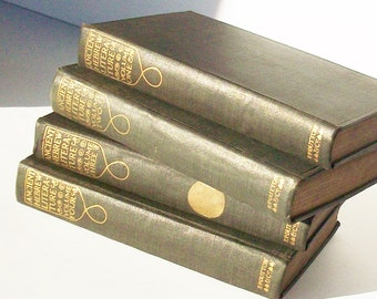 Ancient Hebrew Literature /  4 Volumes / Everymans Library / Good Condition