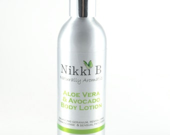 Nikki B 200ml Aloe Vera & Avocado Body Lotion