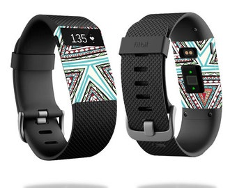 Skin Decal Wrap for Fitbit Blaze, Charge, Charge HR, Surge Watch cover sticker Aztec Pyramids
