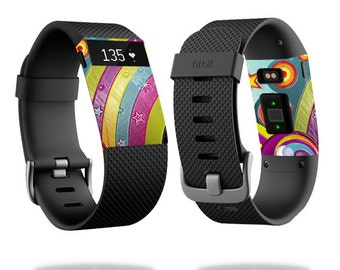 Skin Decal Wrap for Fitbit Blaze, Charge, Charge HR, Surge Watch cover sticker Happiness