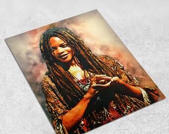 Tia Dalma Digital Art Pirates of the Caribbean 8x10 inches - INSTANT DOWNLOAD - Wall Decor, Inspirational Print, Home Decor, Gift
