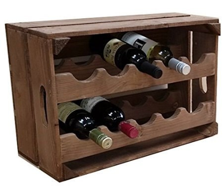 crate wine rack apple crate wine rack 10 bottle 30215