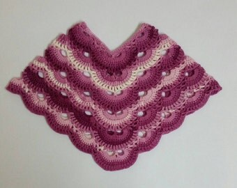 Virus Poncho to fit 1 - 2 year old, one of a kind made to order