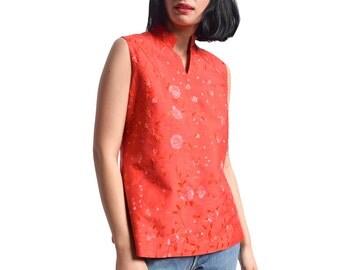 Chinese blouse etsy - Stijl asiatique ...
