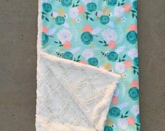 Customized minkey blankets material