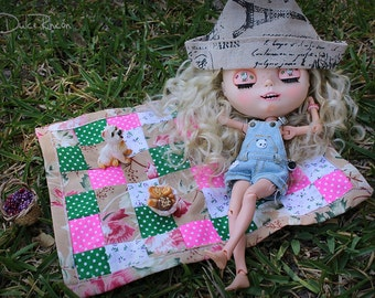 Patchwork for Doll House blanket