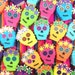 Sugar Skull Pinata, Party Favor, Day of the Dead, Cinco de Mayo, Book of Life Party, Wedding Favor, Mexican Fiesta Decoration, Set of 6