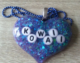 Kowaii Word Necklace