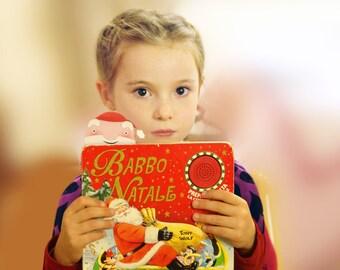 Advent calendar bookmark,  shave Santa's beard, printable advent calendar, advent toys, countdown, instant download