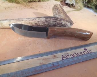 Eric's Oregon Elk Skinning Knife Marine Teak wood Handles