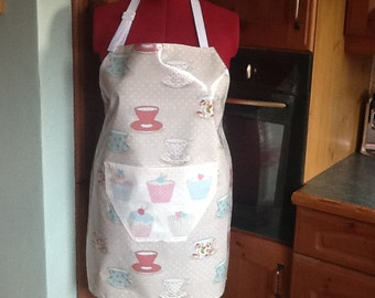 Ladies oilcloth full apron