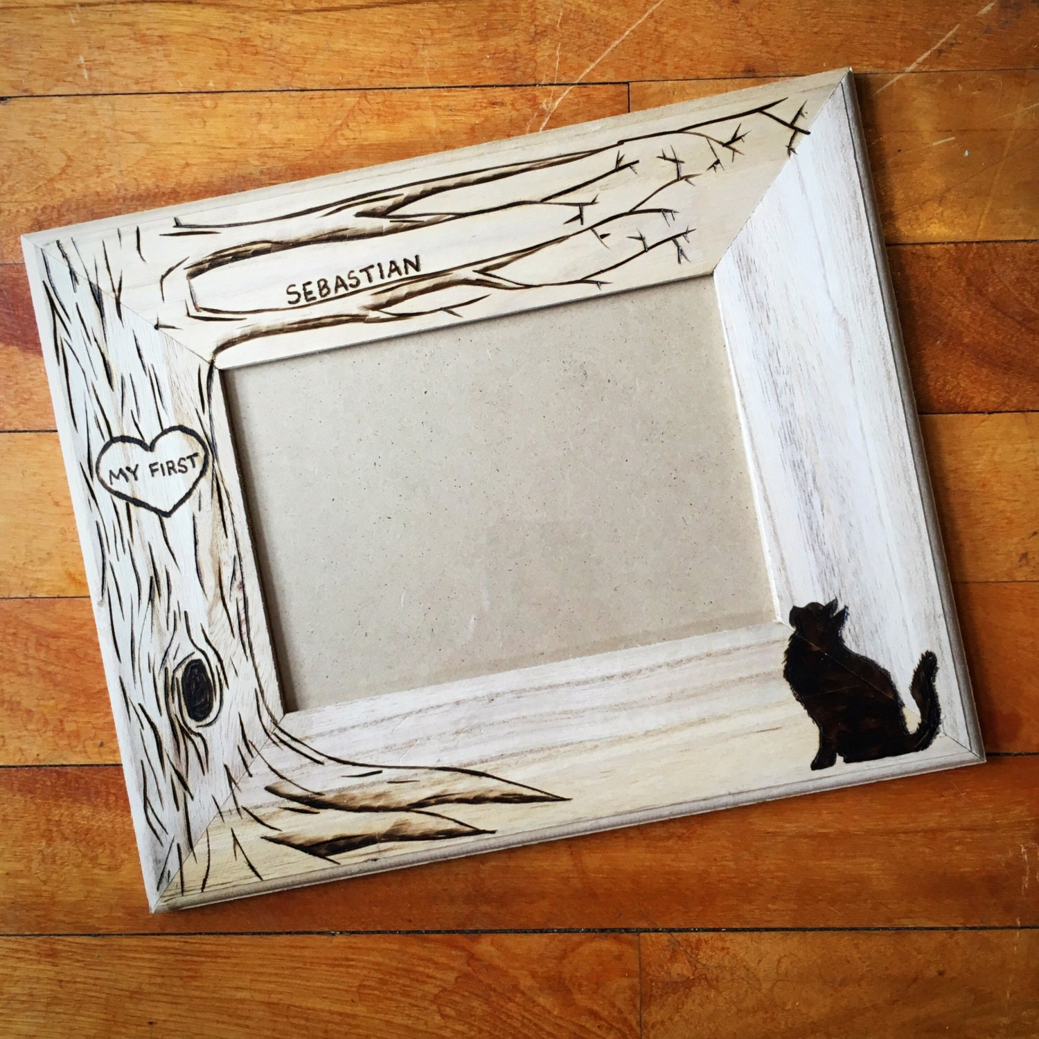 2900 - Wood Burning Picture Frame