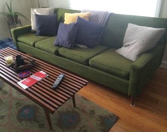 "91"" Mid century modern sofa"