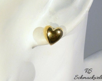 Heart Earrings, heart earrings, earrings love, Bridal jewelry, Bridal earrings, gift, Valentine's day, wedding, engagement
