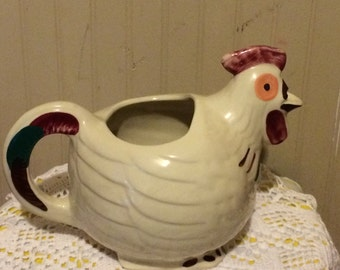 Shawnee Rooster Milk Pitcher