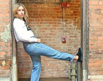 Vintage Original Calvin Klein High Waist Blue Jeans