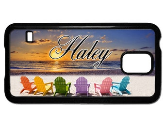 Beach Chairs Samsung Galaxy S5  Case